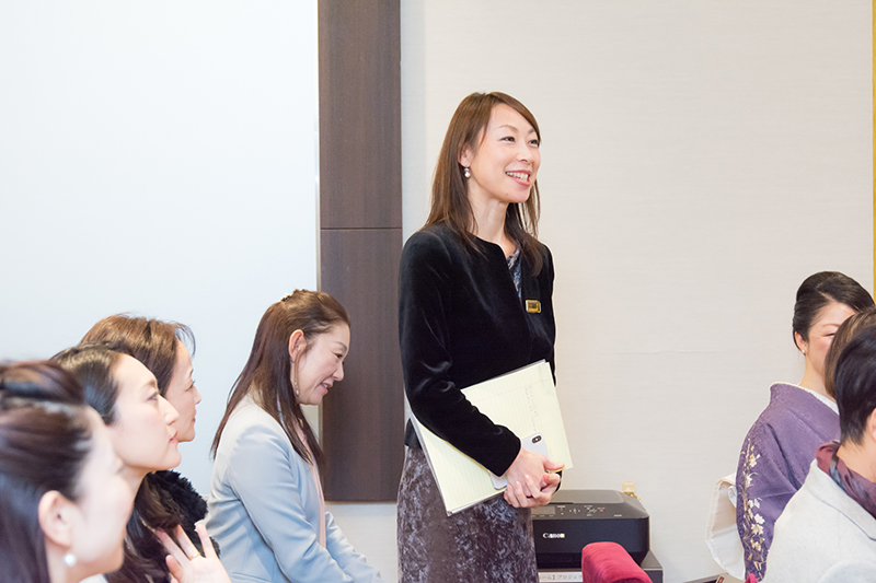 外国人エグゼクティブの秘書髙木明子講師