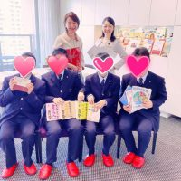 福岡の高校生がインタビューにご来社