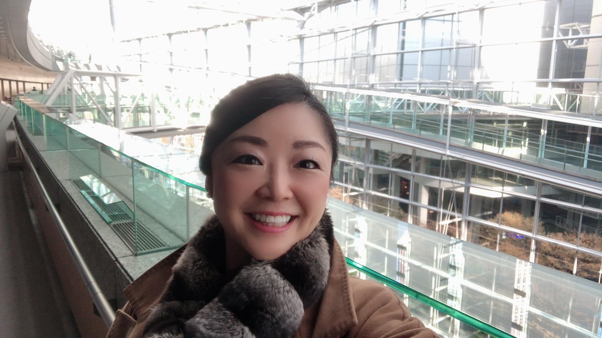 笑顔の藤村純子
